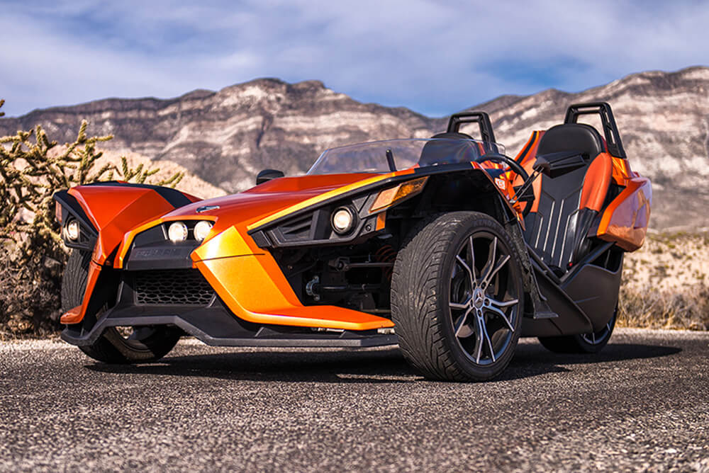 2015 Polaris Slingshot SL (Orange)