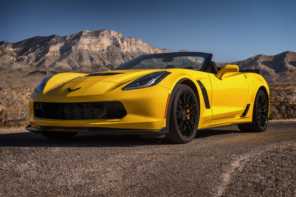 2016 Corvette Z06 Convertible (Yellow)