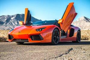 2015 Lamborghini Aventador (Orange)