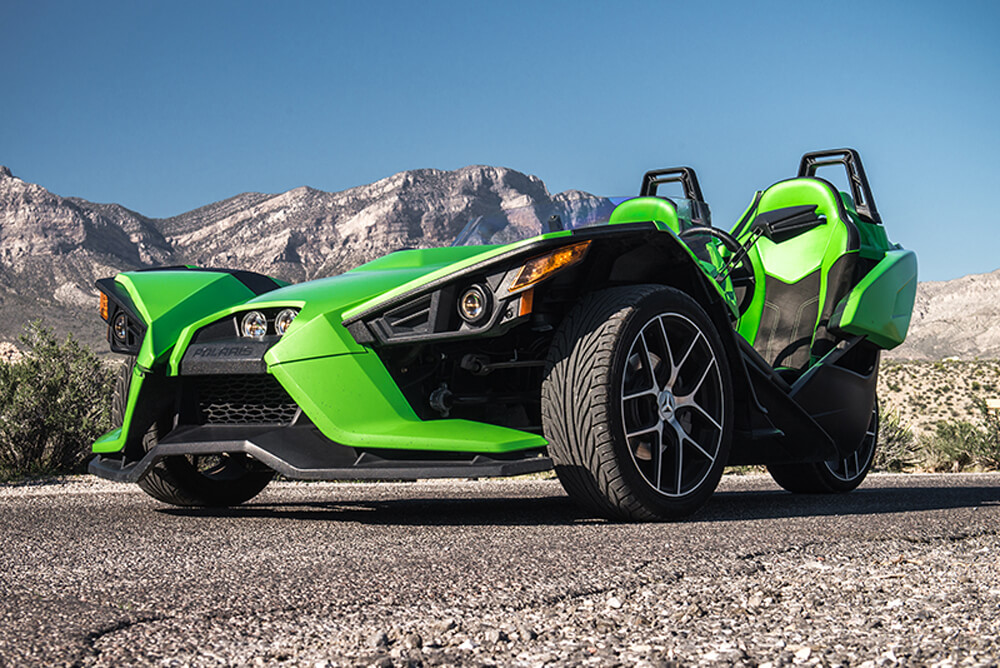 2015 Polaris Slingshot (Green)