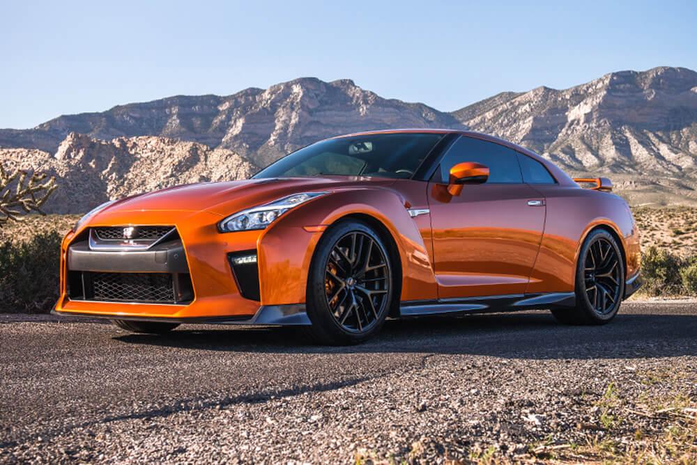 2017 Nissan GT-R (Orange)