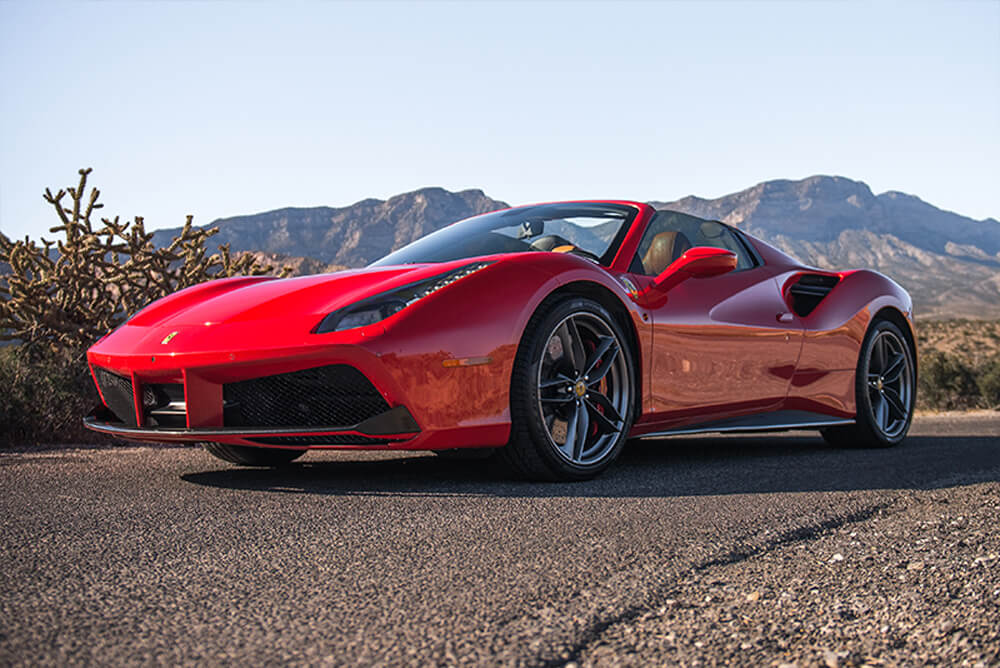 2017 Ferrari 488 Convertible (Red)