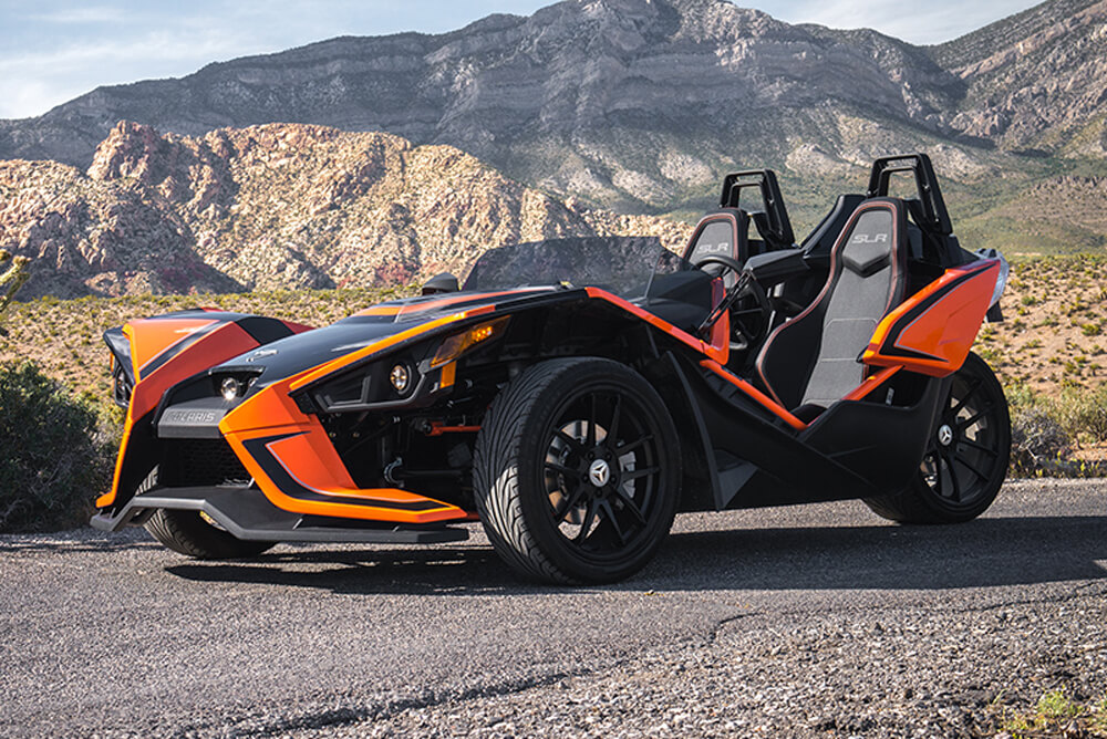 2017 Polaris Slingshot SLR (Orange)