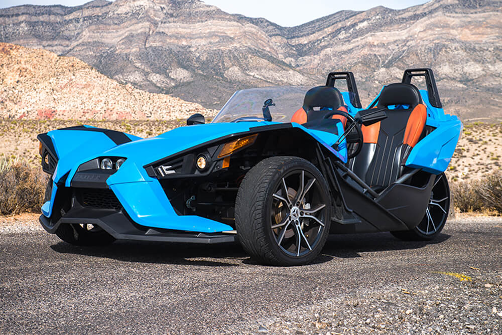 2015 Polaris Slingshot SL (Blue)