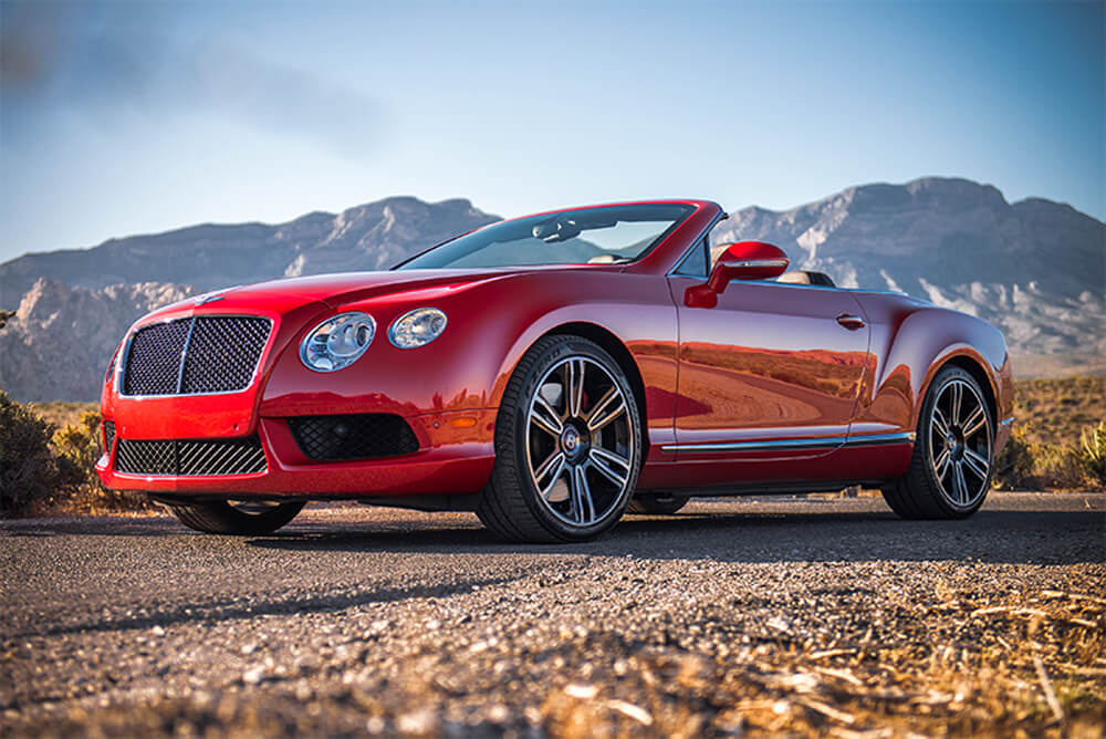 2015 Bentley Continental GTC (Red)