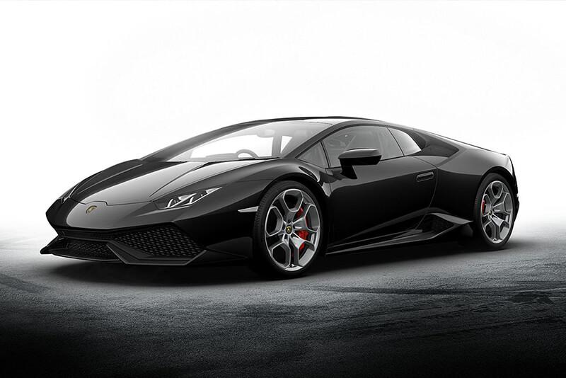 2016 Lamborghini Huracán 610-4 (Black)