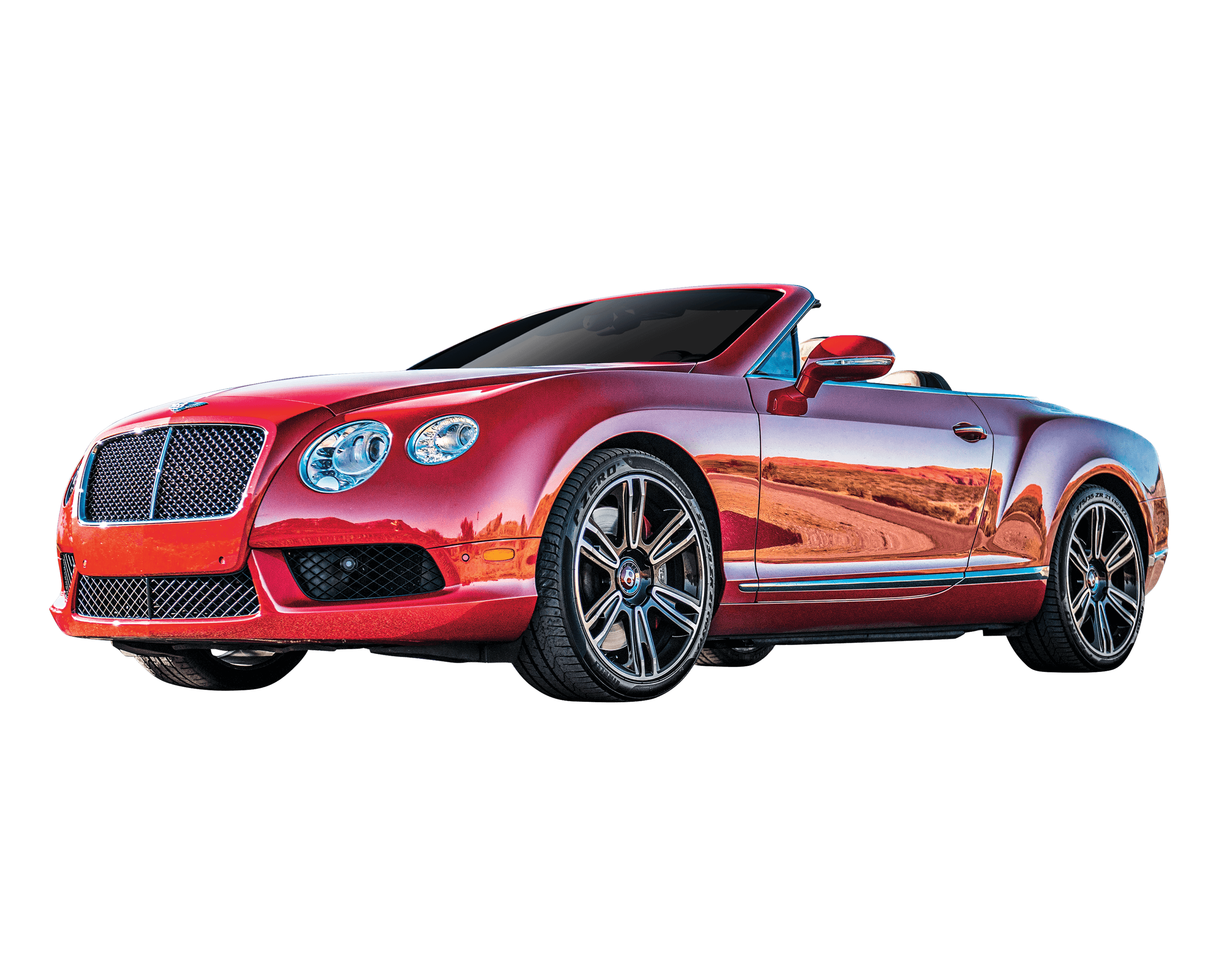 Rent A 2015 Bentley Continental Gtc Red In Las Vegas