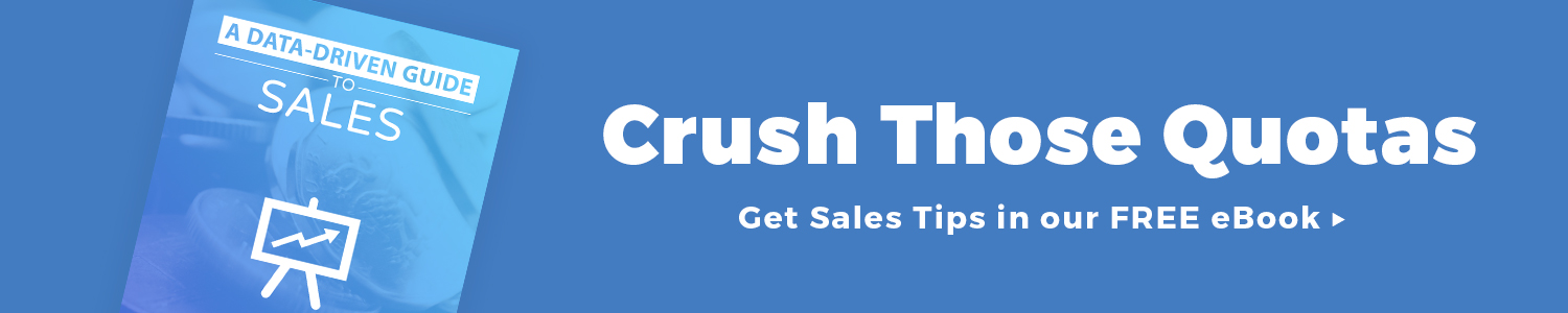 Crush your quotas with our Sales eBook