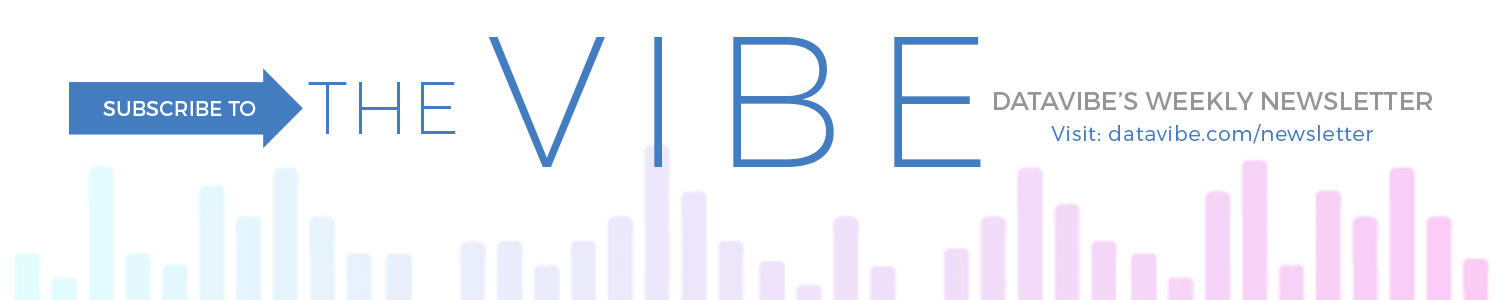 Subscribe to The Vibe (Data Vibe's newsletter)