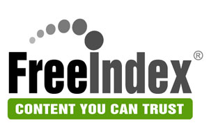A clickable picture of the FreeIndex logo