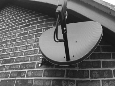 Picture of a satellite dish