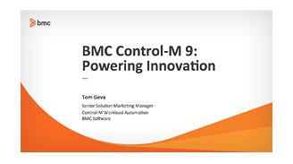 BMC Control-M - Automatización cargas de trabajo