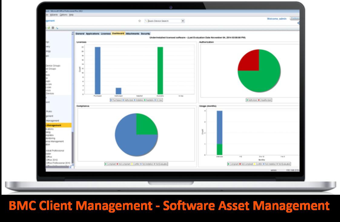 BMC Cient Management - SW Licensing Management