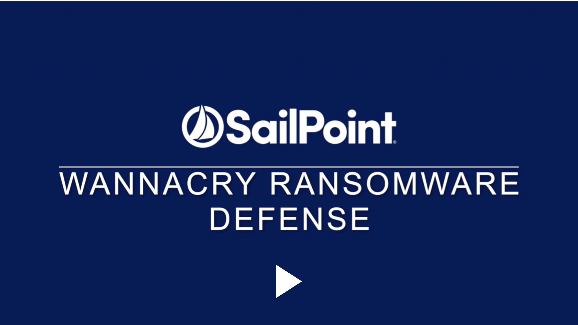 SailPoint malware defense