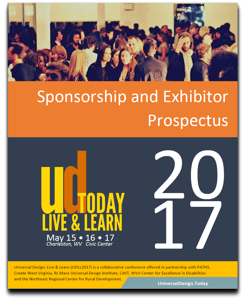 Clickable image of the cover of the UDLL sponsorship and exhibitor prospectus