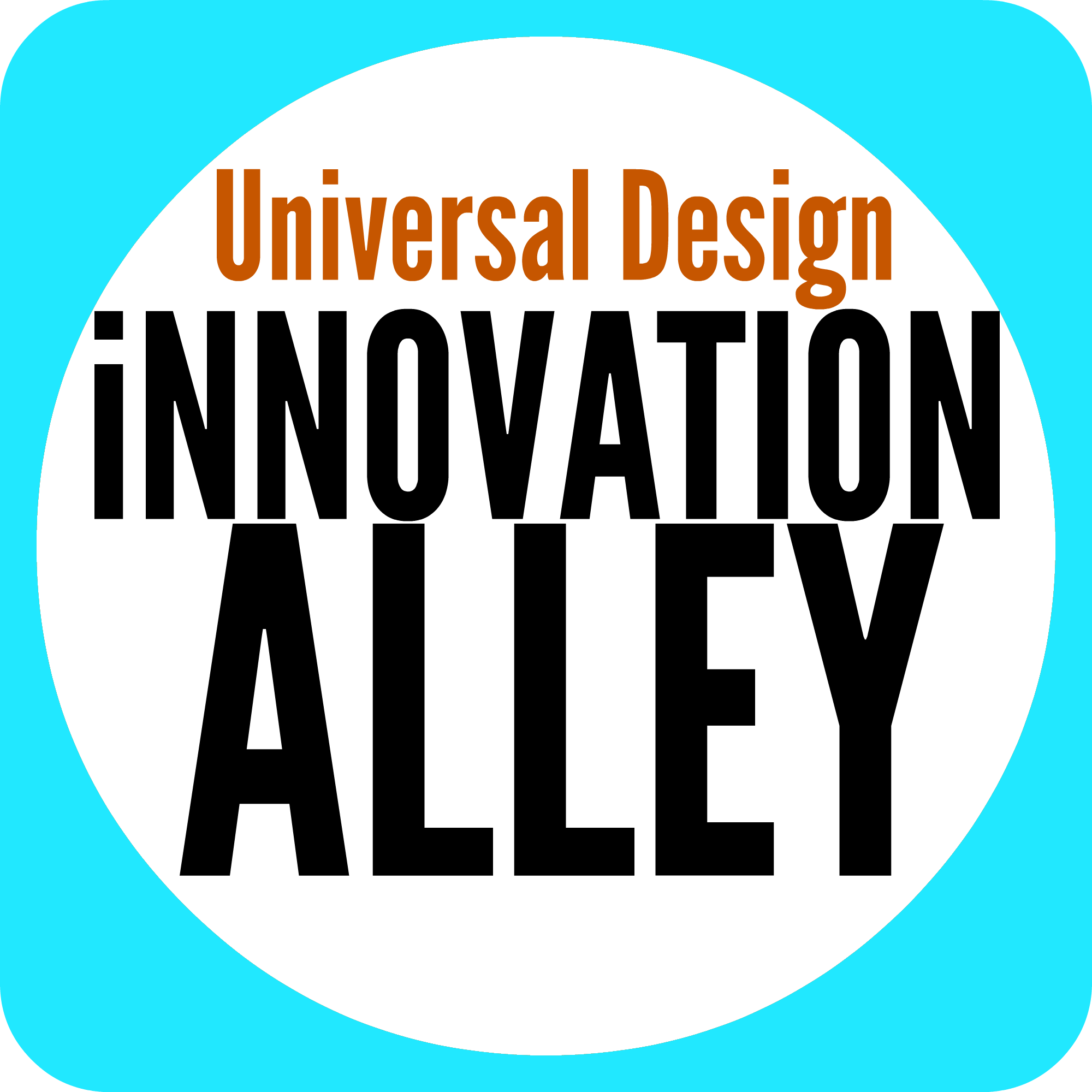 Graphic icon for the Innovation Alley segment of the conference
