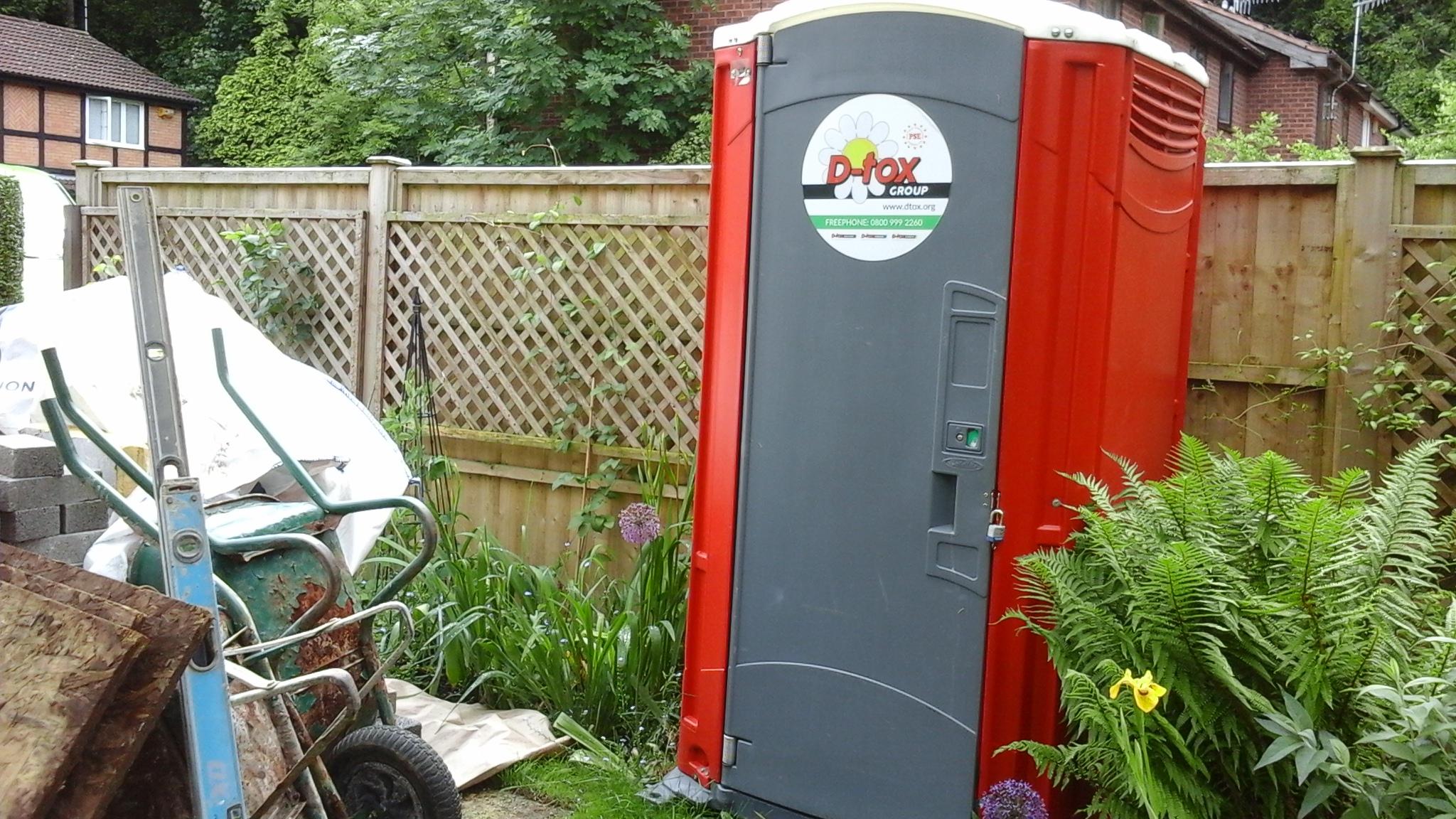 toilet hire for building sites