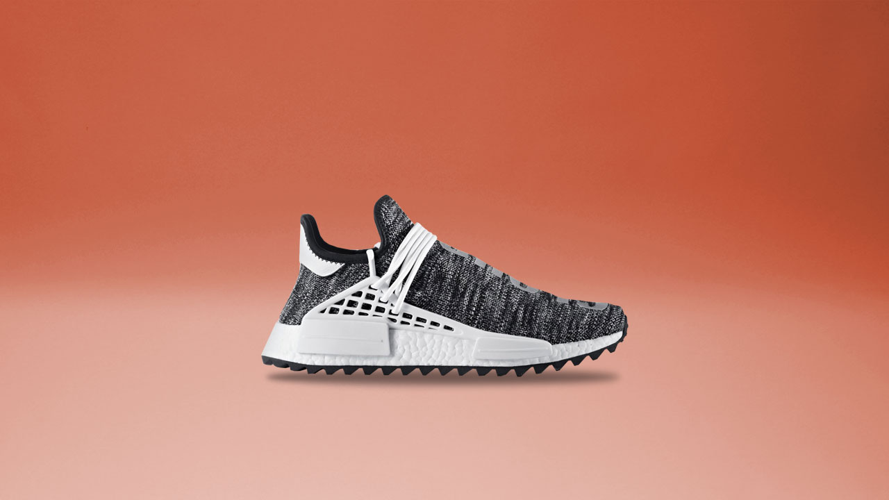 Cheap NMD PW Human Race Black White artemisoutlet