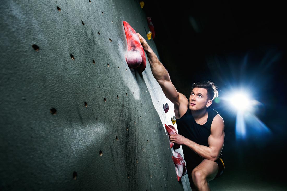 Danyil Boldyrev Rock Climbing