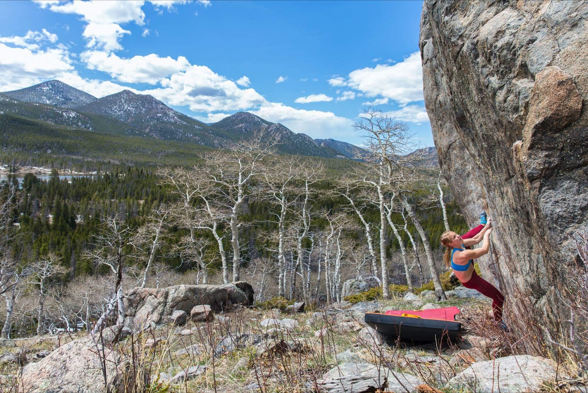 Erin Ayla Rock Climbing