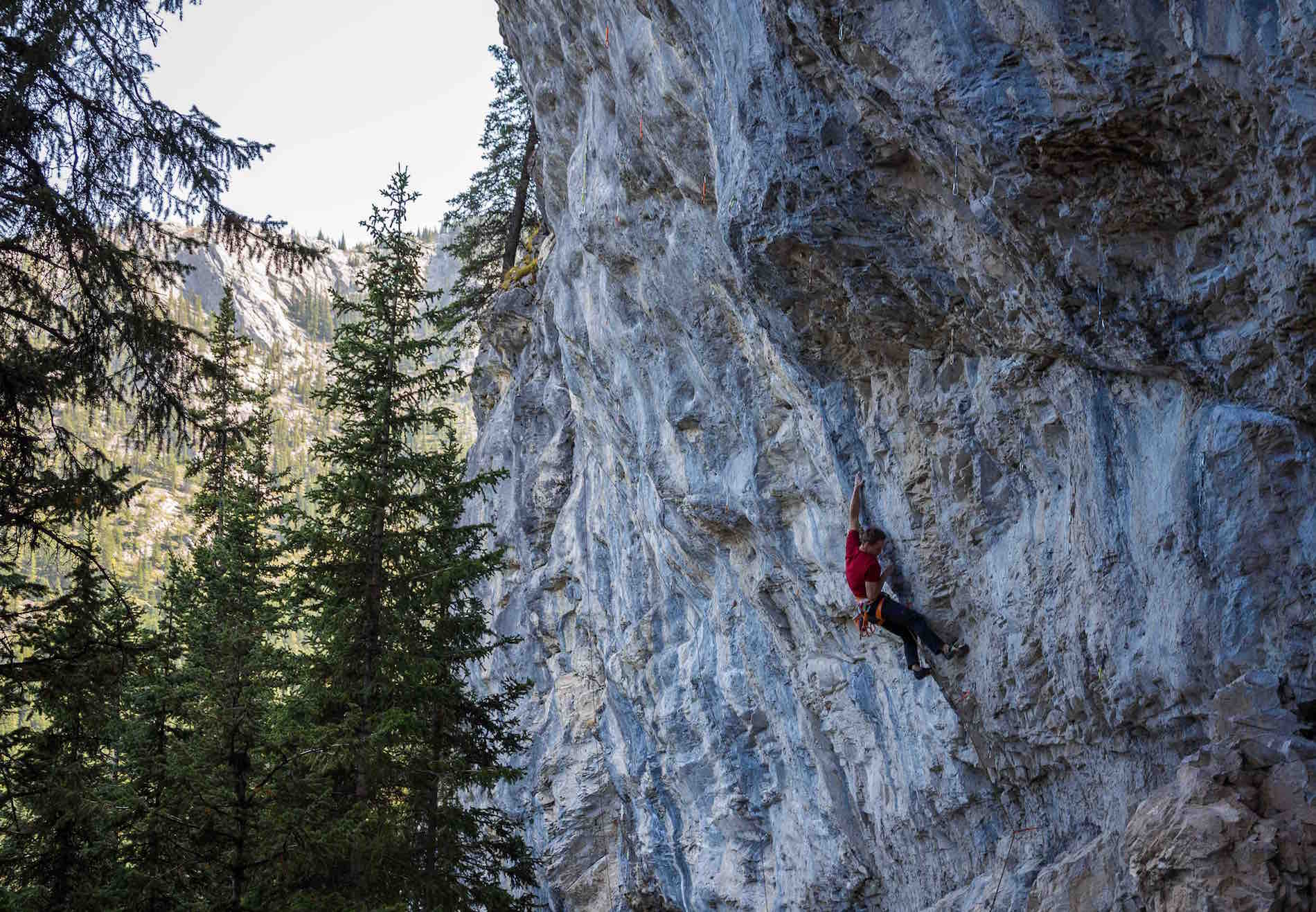 Josh Muller Rock Climbing