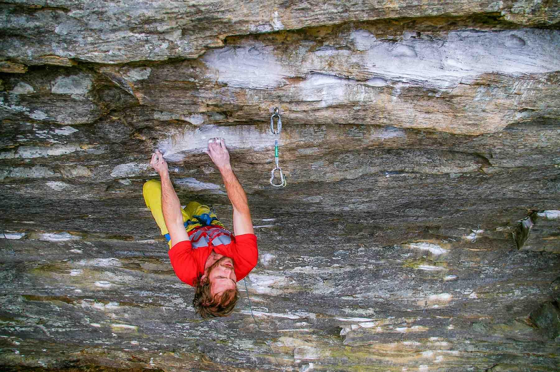 Tyrel Fuller Rock Climbing