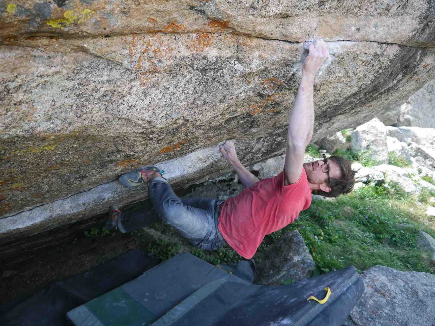 Will Anglin Rock Climbing