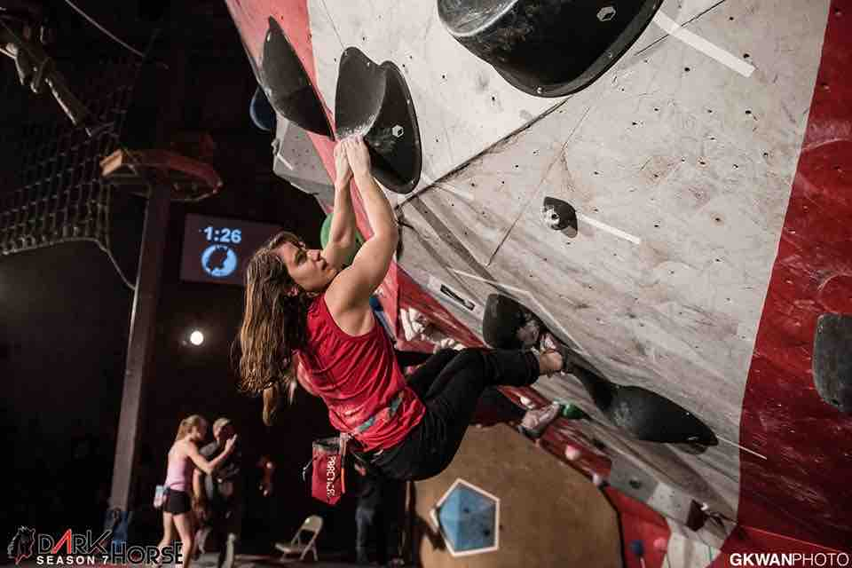 Zoe Steinberg Climbing