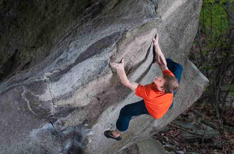 Martin Keller Rock Climbing
