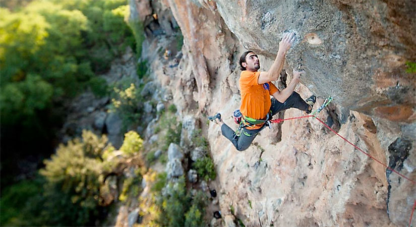 Sam Elias  - FrictionLabs Rock Climbing Chalk Pro Athlete - photo credit Damiano Levati