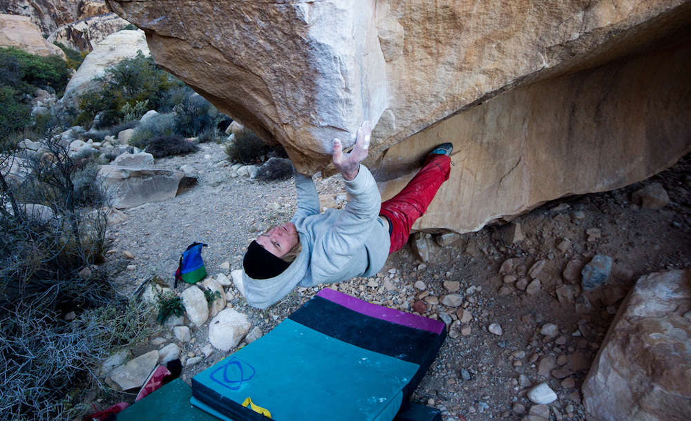 Bradley Saunders, rock climber, bouldering, rock climbing, friction labs athlete, chalk matters, frictionlabs