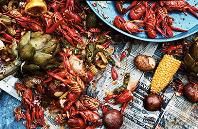 Crawfish Boil for Urban Food Fortnight