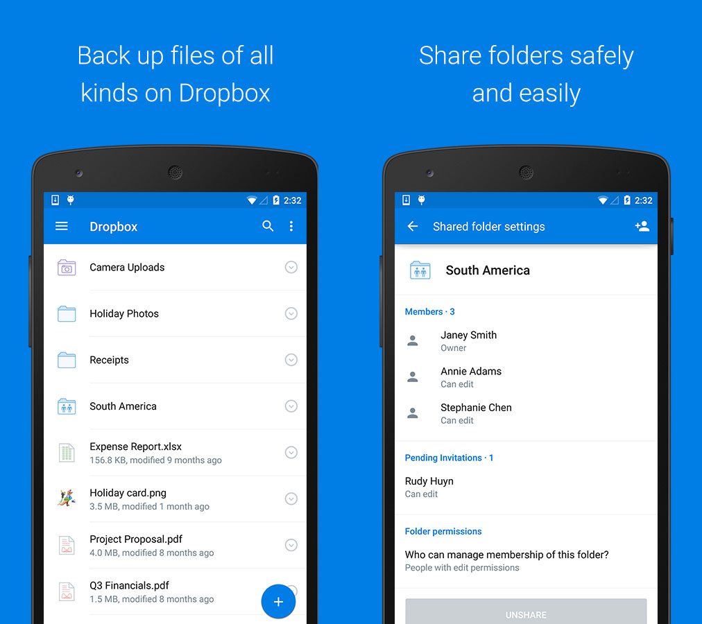 print screen dropbox app