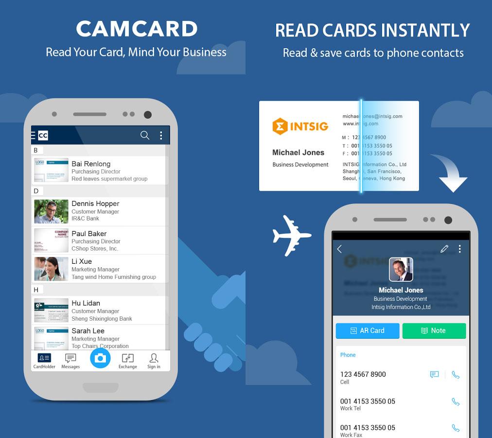 print screen camcard app