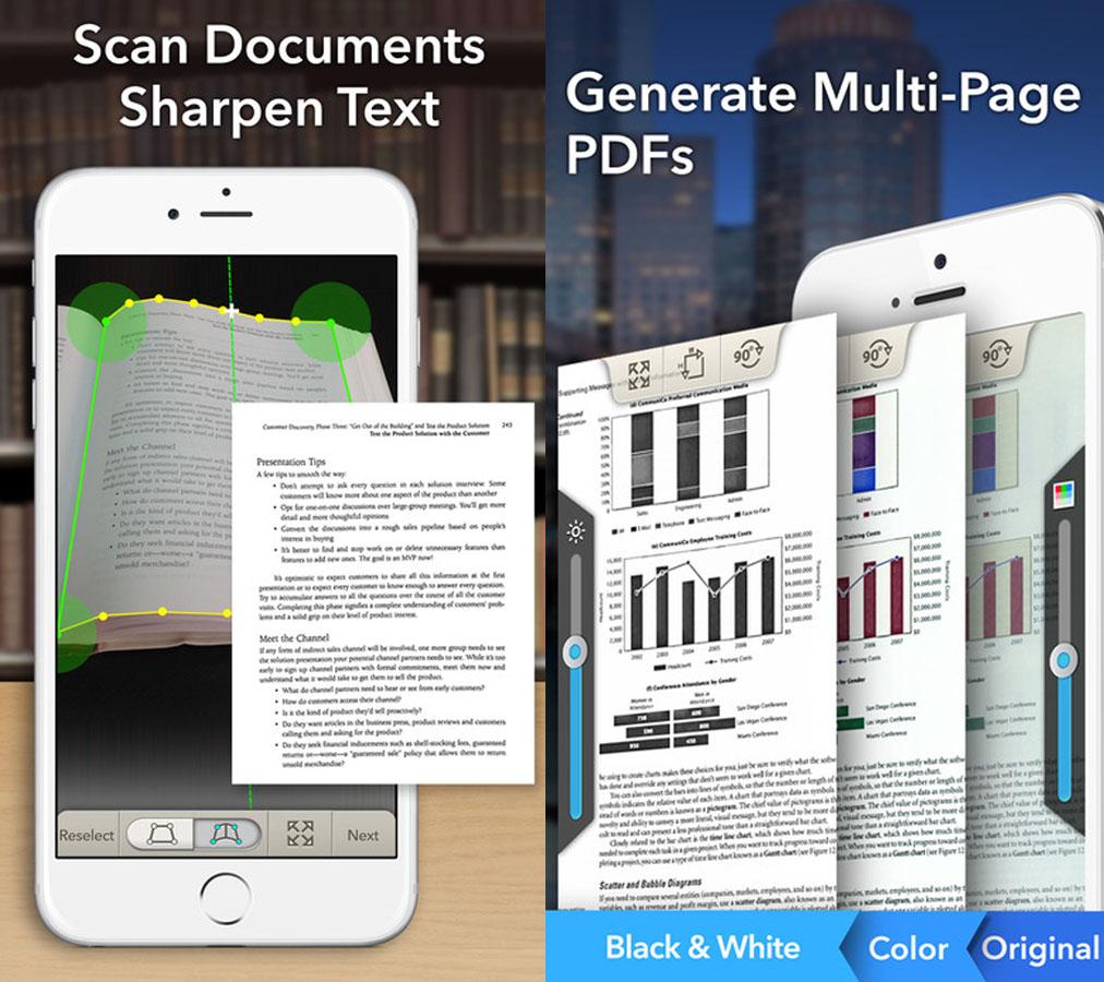 print screen doc scan app