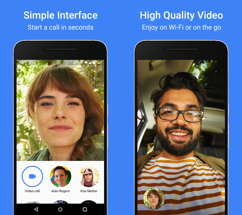 google duo app print screen