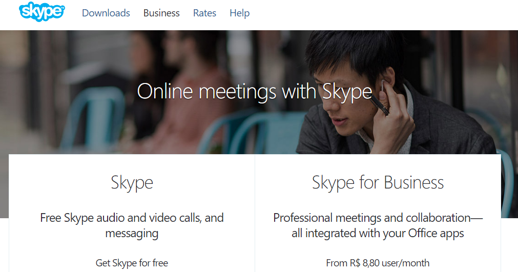 skype website print screen