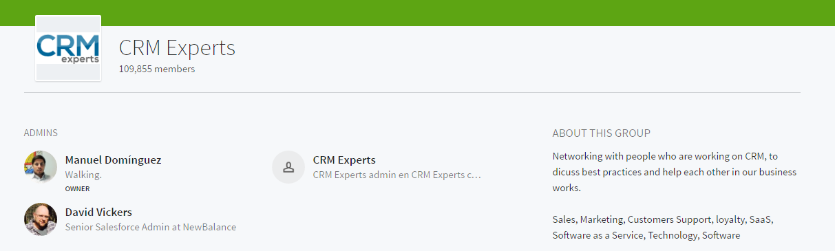 crm experts linkedin