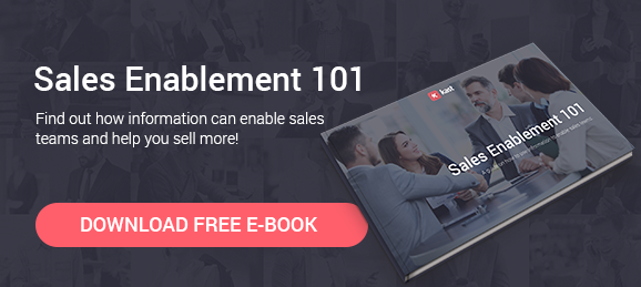 Sales Enablement 101 e-book
