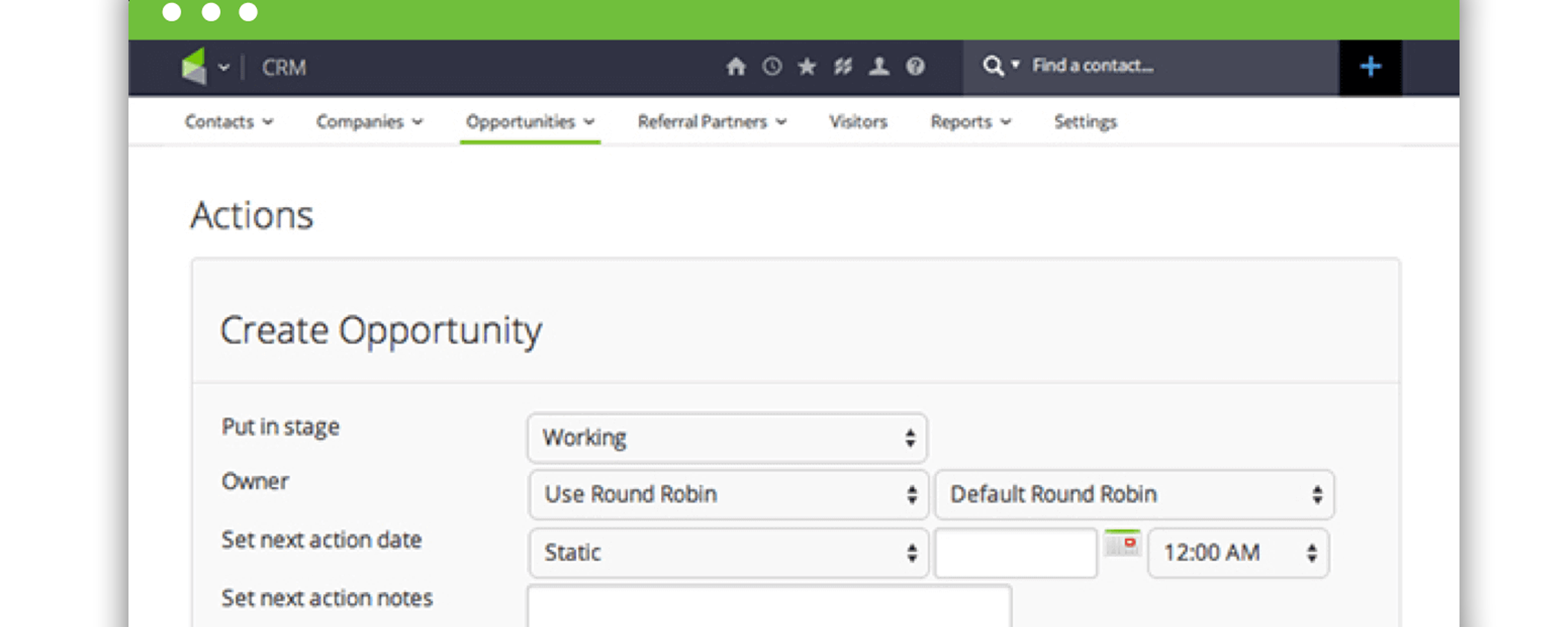infusionsoft pipeline management