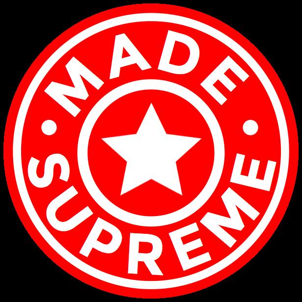 Madesupreme™ | VITALITY TONICS™ Logo