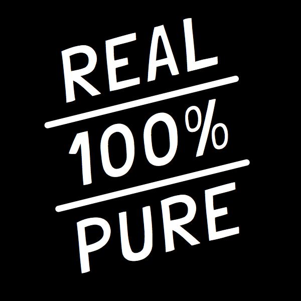 100% Pure + Raw icon | VITALITY TONICS™ | Madesupreme™