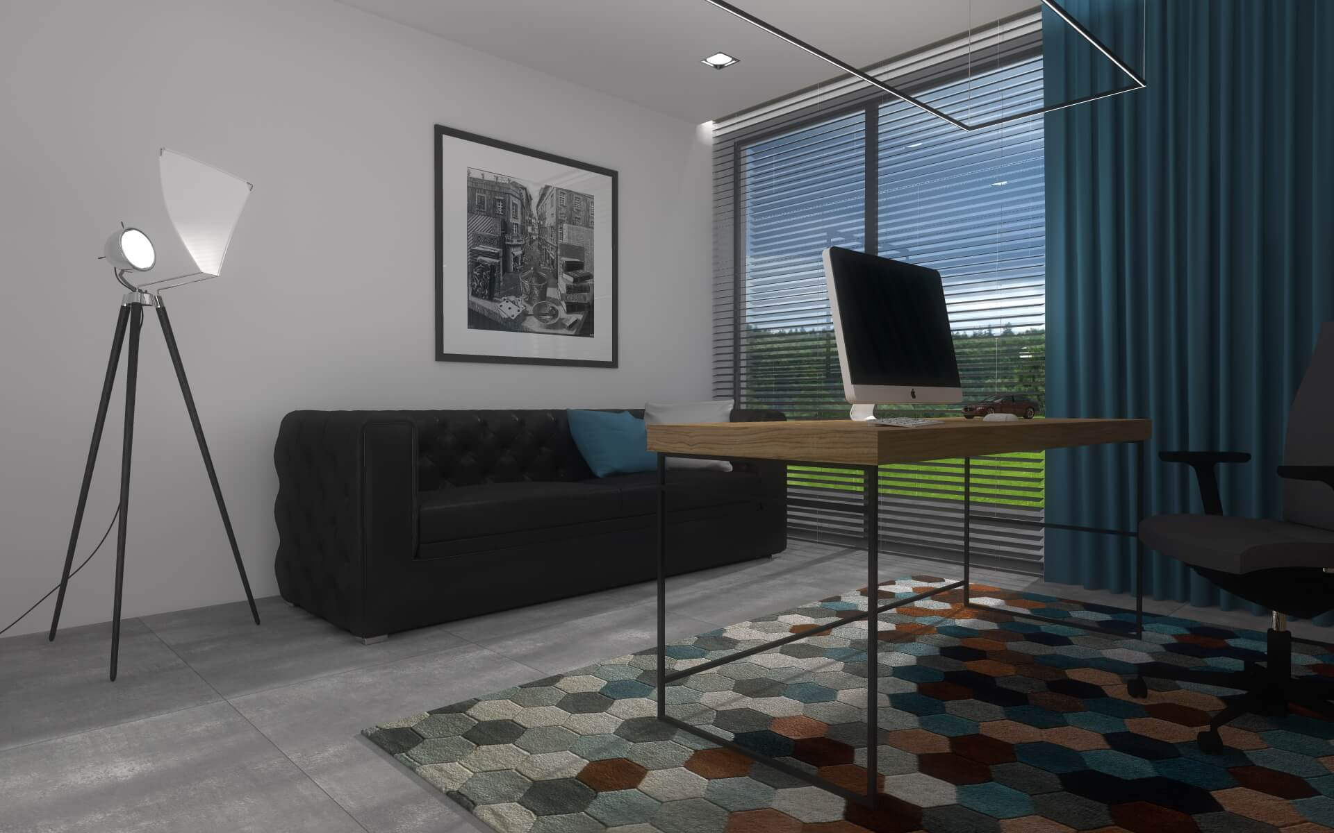 Projekt wnętrz domu 260m2 w modernistycznym stylu