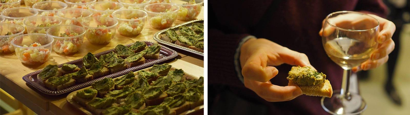 Double V - dégustation - les jeudis culinaires