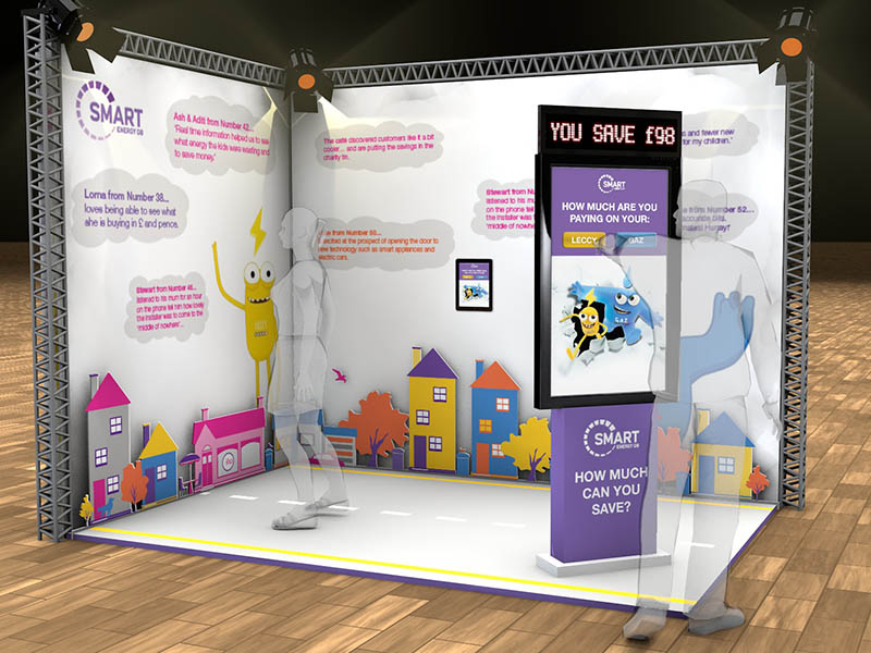 Smart Energy GB Exhibition Stand Design