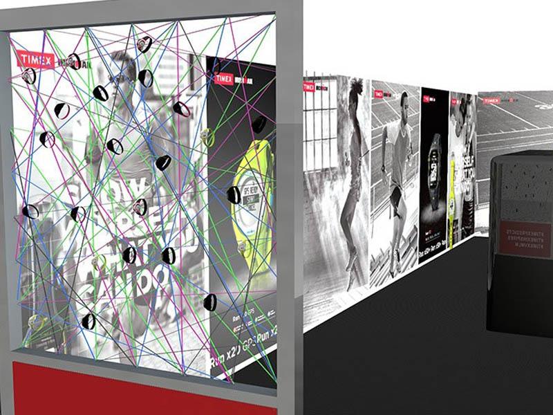 London Marathon Timex Exhibition Stand Design and Build