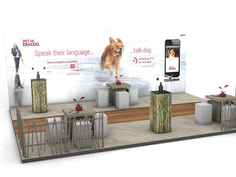zoetis exhibition stand design build