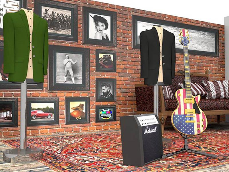 John Varvatos mens designer pop up shop selfridges design