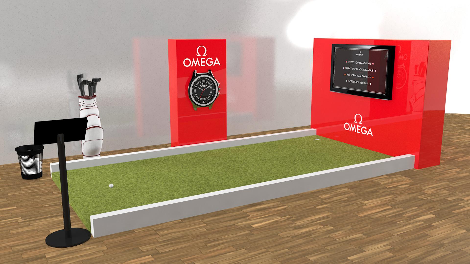 Omega Putting Application