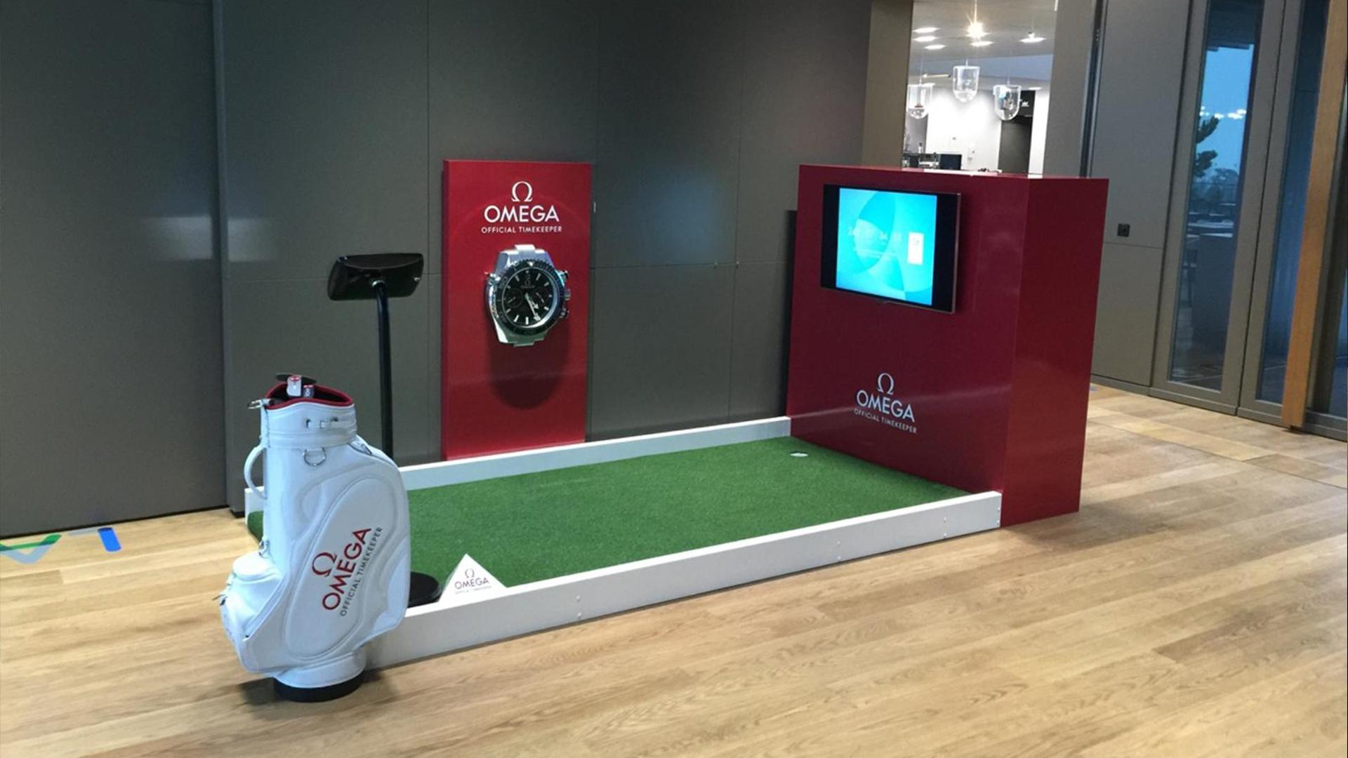 Omega Golf Event Entertainment